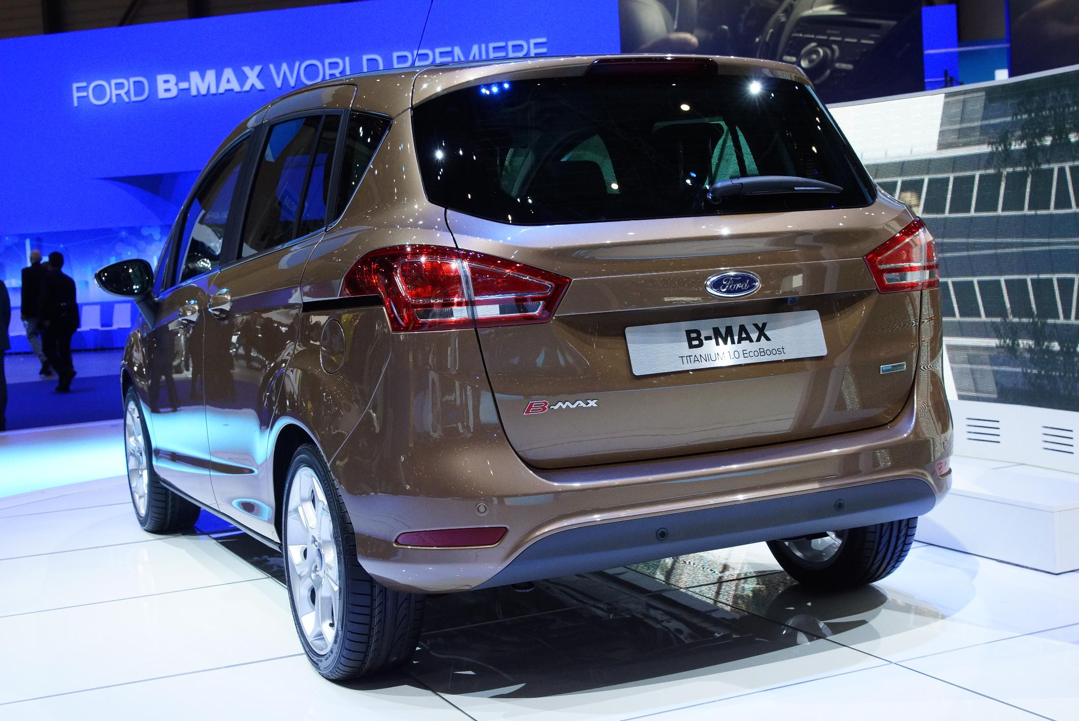 Ford B-Max Geneva 2012 Rear