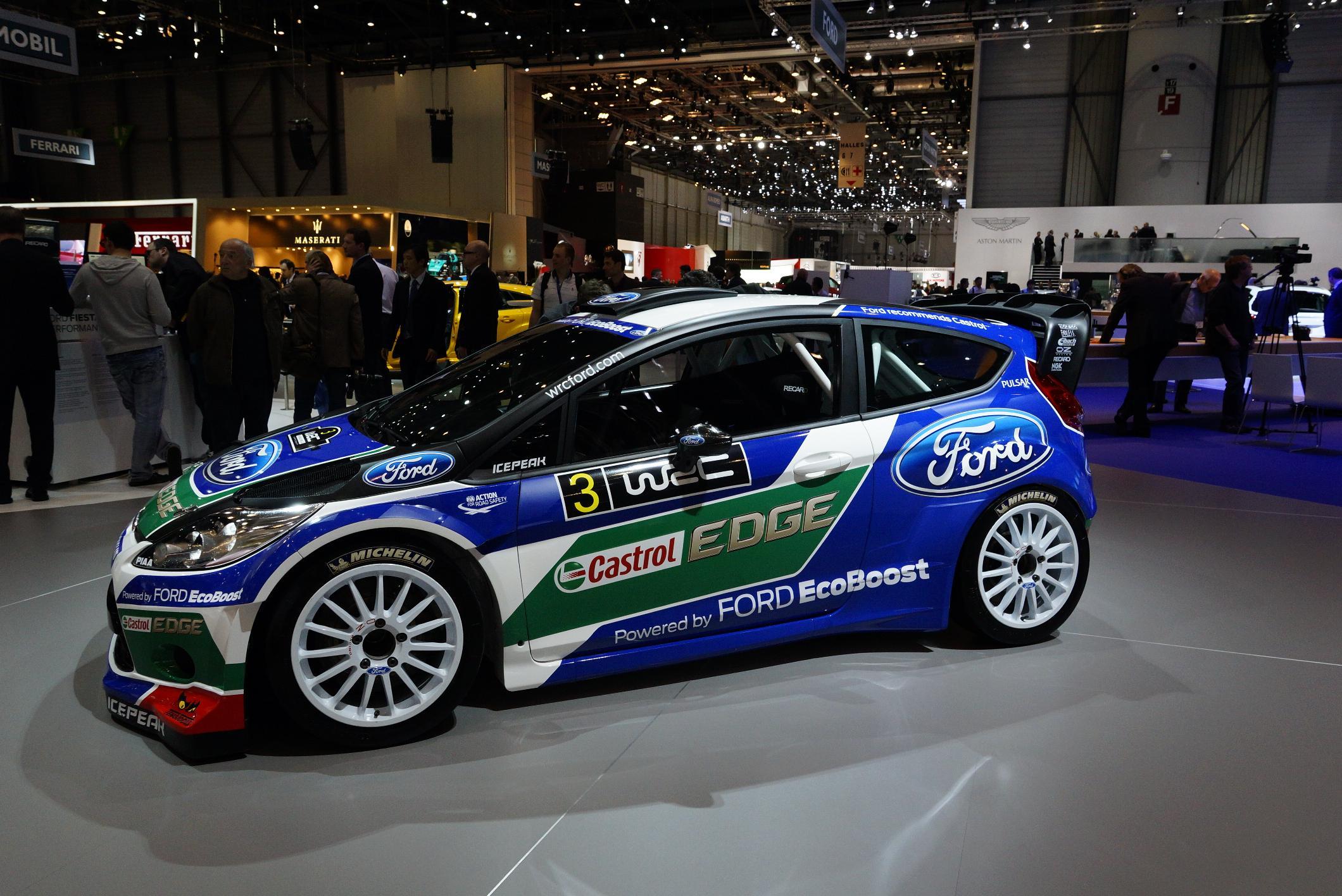 Ford Fiesta Rally Geneva 2012 Side