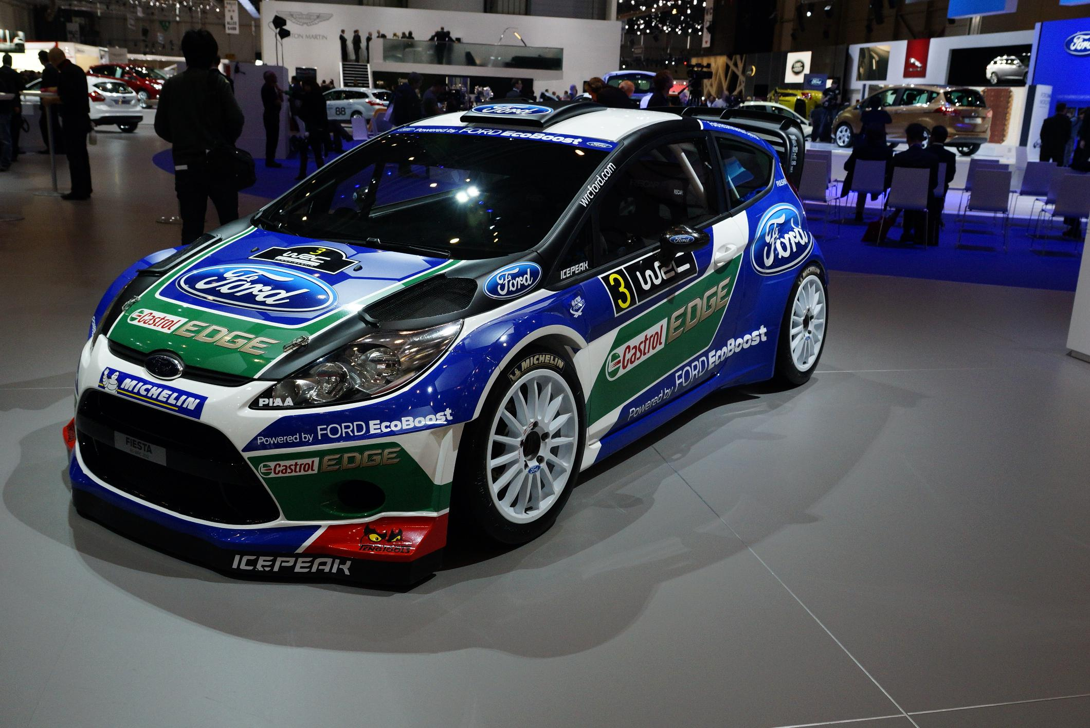 Ford Fiesta Rally Geneva 2012