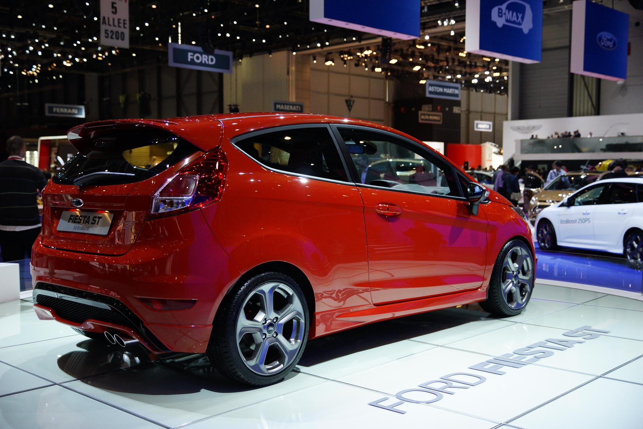Ford Fiesta ST Geneva 2012 Rear