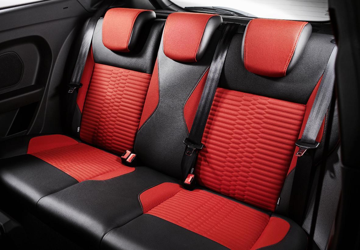 Ford Fiesta ST Rear Seats