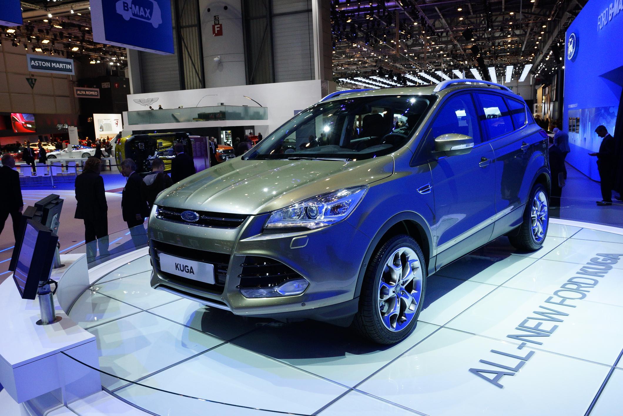 Ford Kuga Geneva 2012