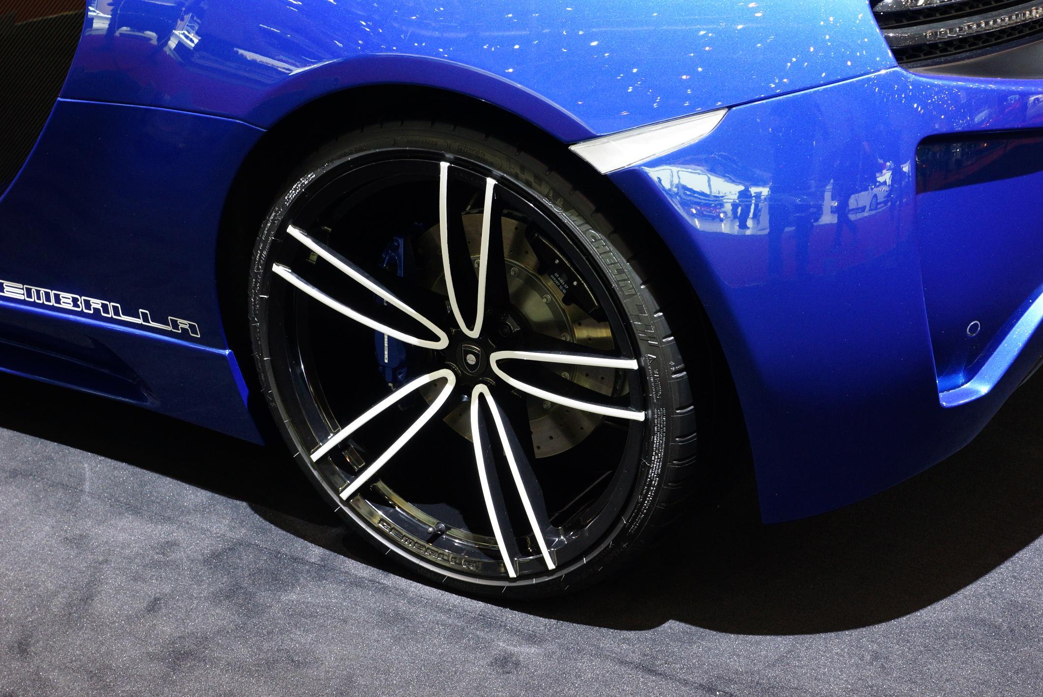 Gemballa GT McLaren MP4-12C Geneva 2012 Wheel