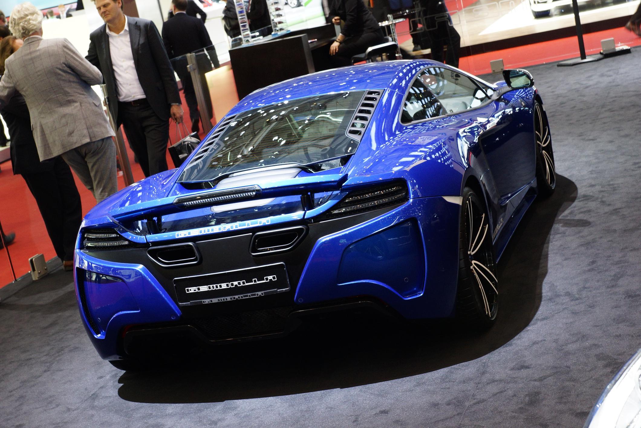 Gemballa GT McLaren MP4-12C Geneva 2012