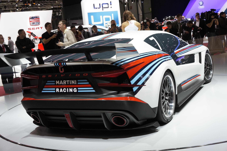 Giugiaro Brivido Racer Rear Geneva 2012
