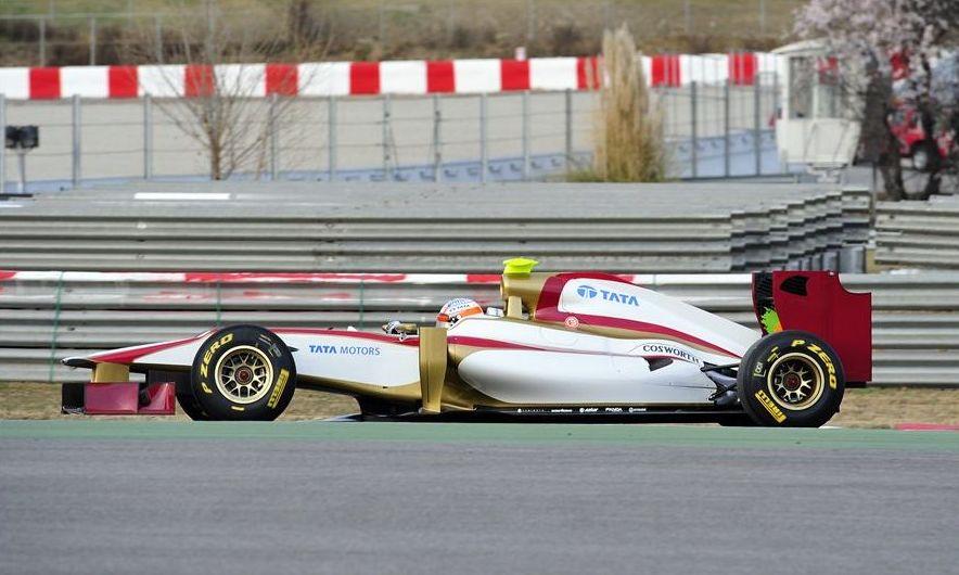 HRT F112 Side