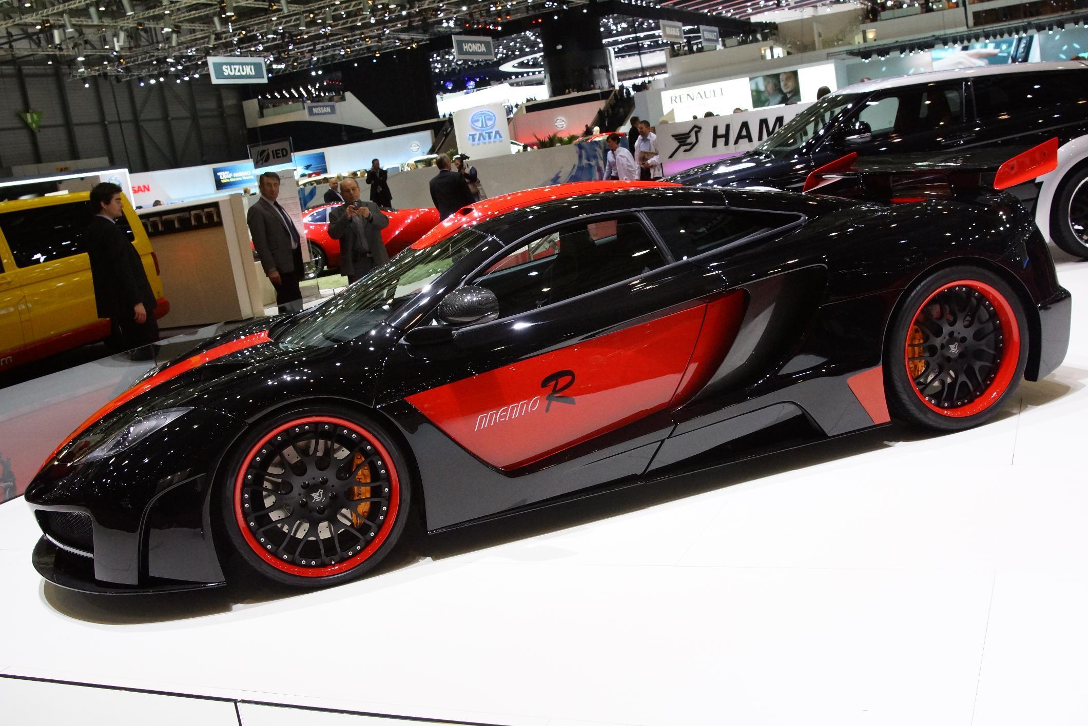 Hamann memoR McLaren MP4-12C Geneva 2012 Side