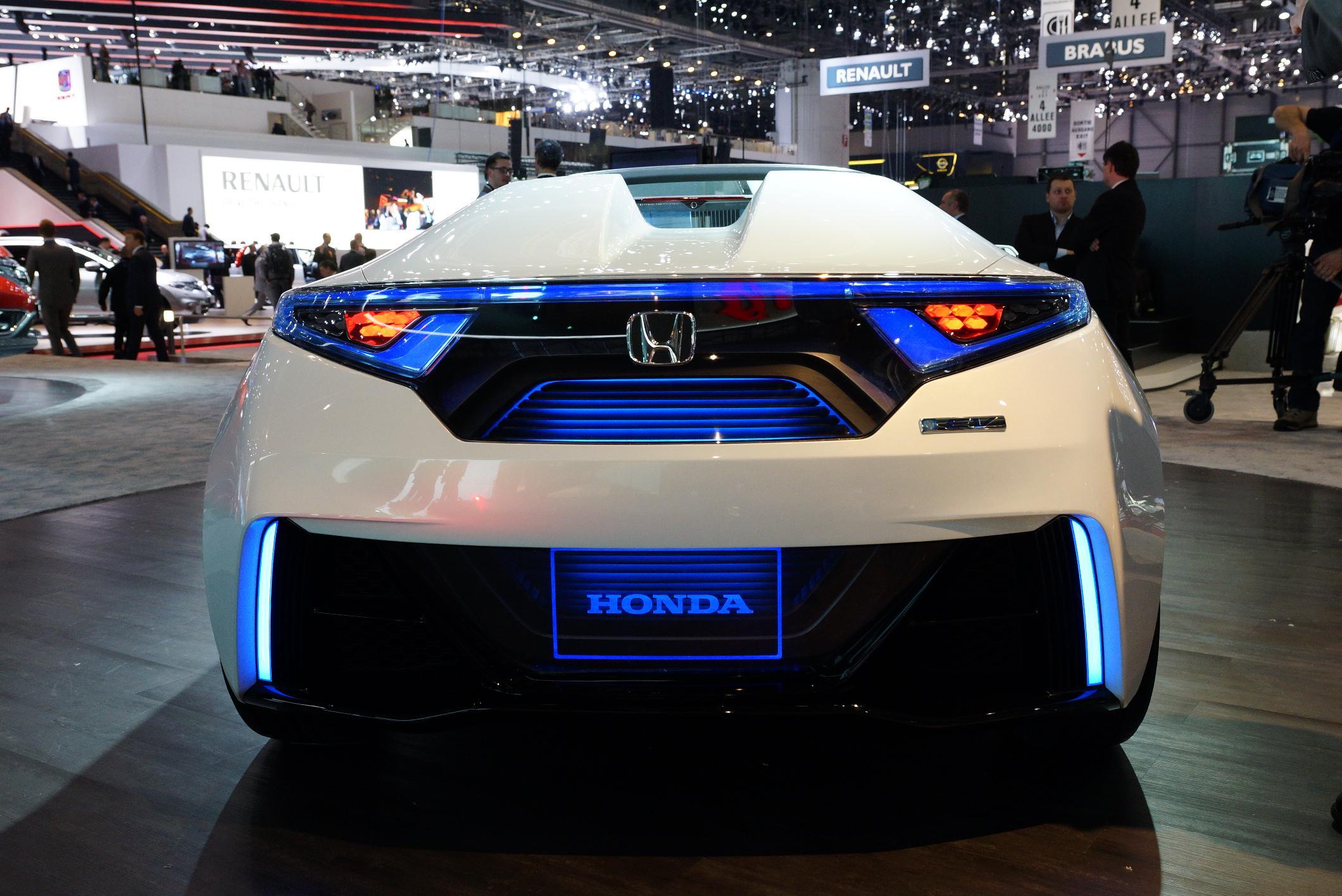 Honda EV Concept Geneva 2012 Rear