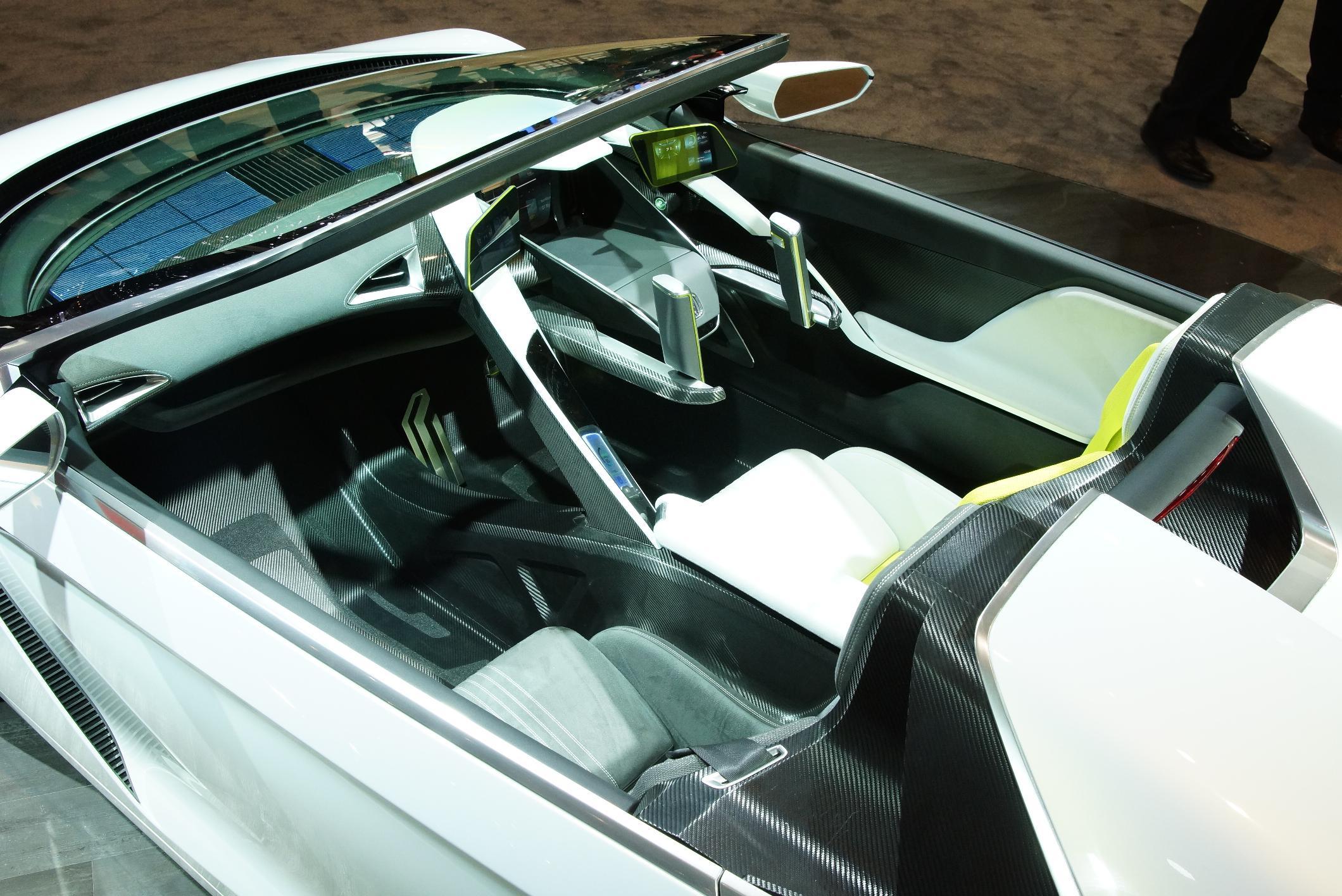Honda EV-Ster Geneva 2012 Interior