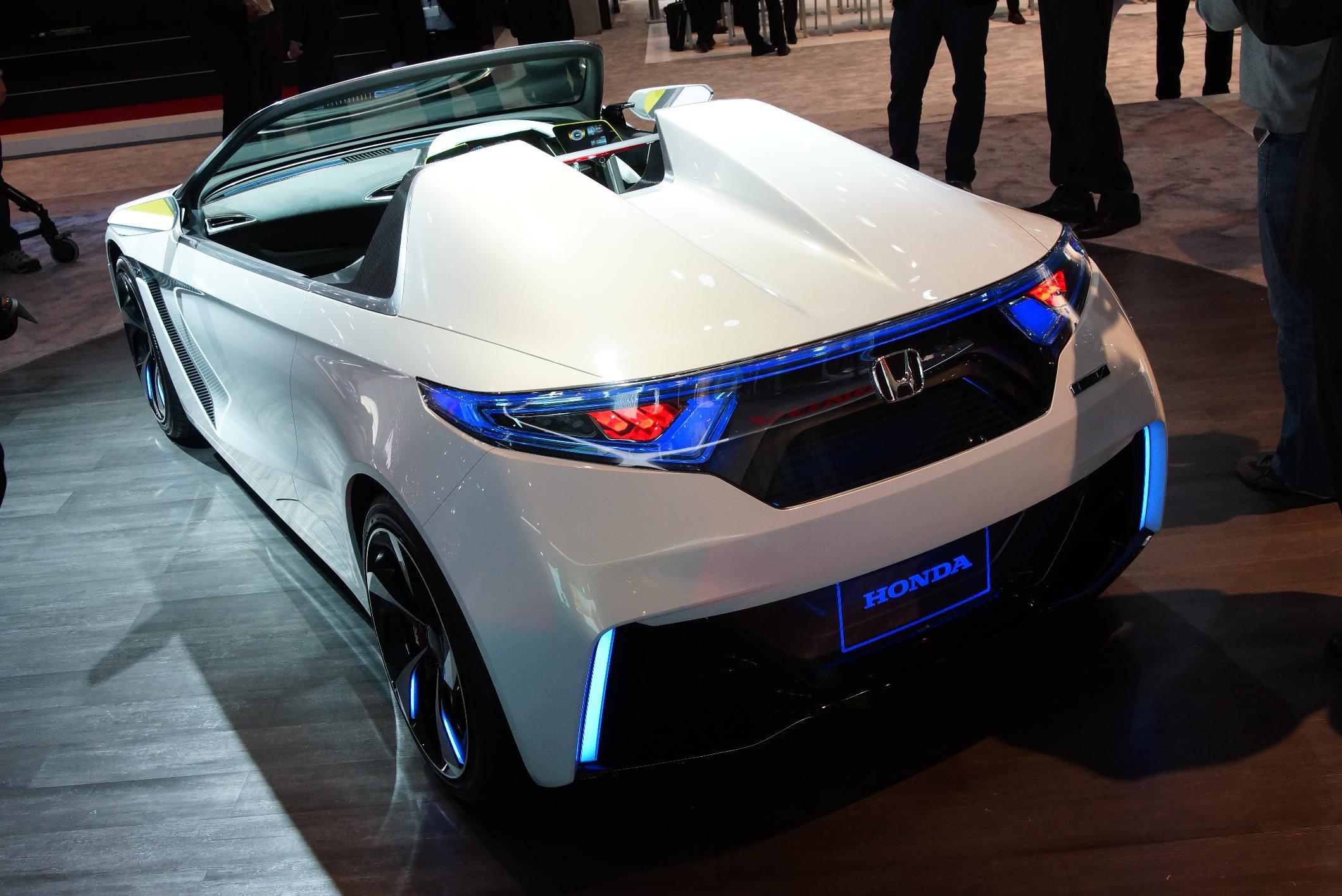 Honda EV-Ster Geneva 2012 Rear