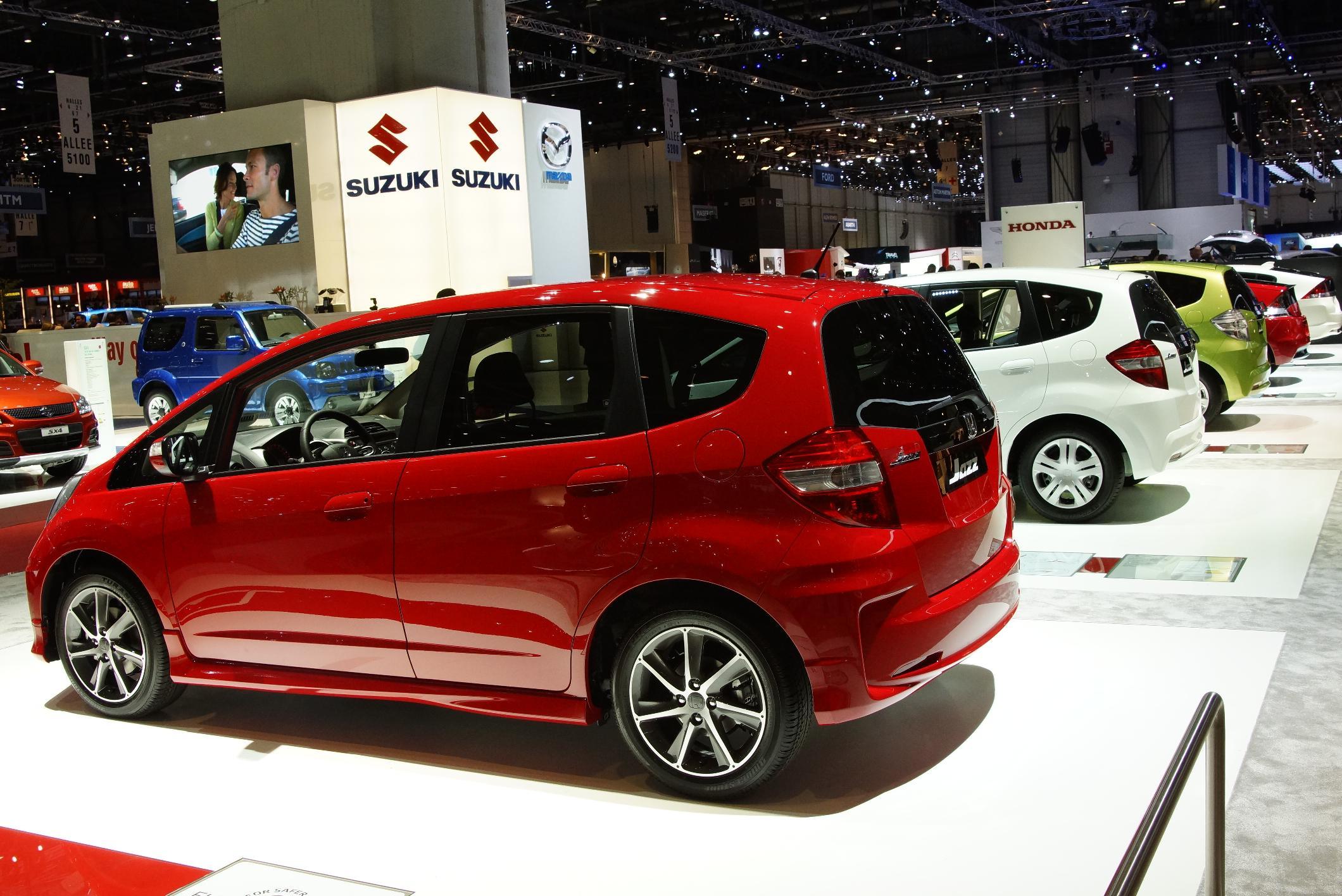 Honda Jazz Geneva 2012 Rear
