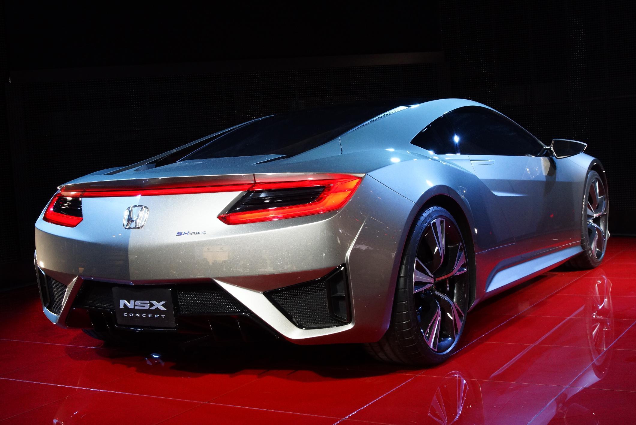 Honda NSX Geneva 2012 Rear