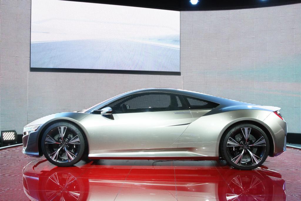 Honda NSX Geneva 2012 Side 2