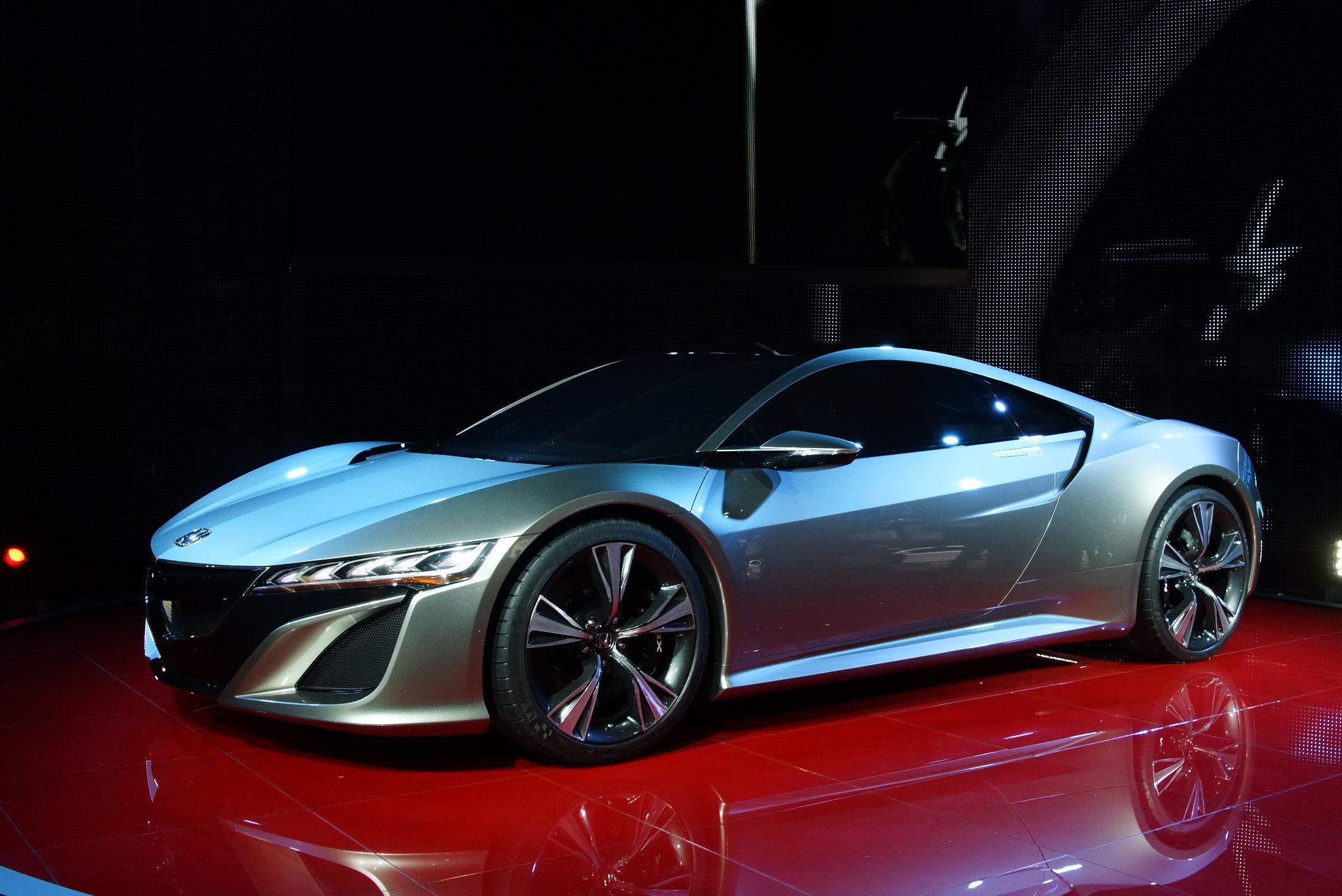 Honda NSX Geneva 2012 Side