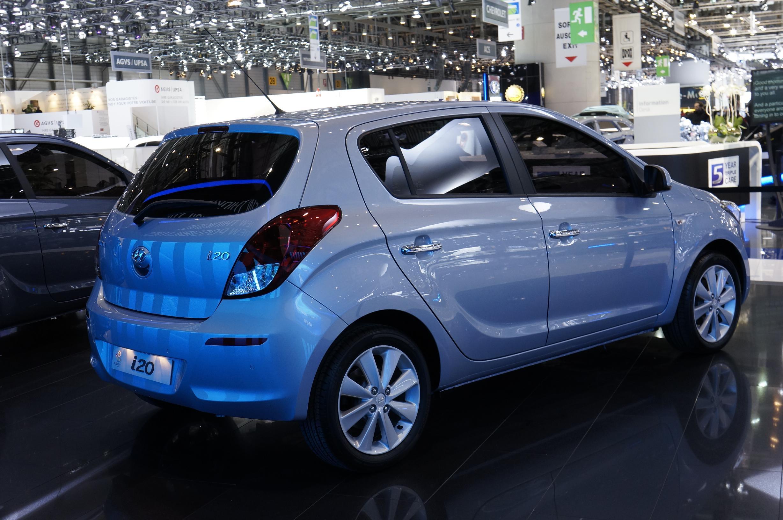 Hyundai i20 Geneva 2012 Rear
