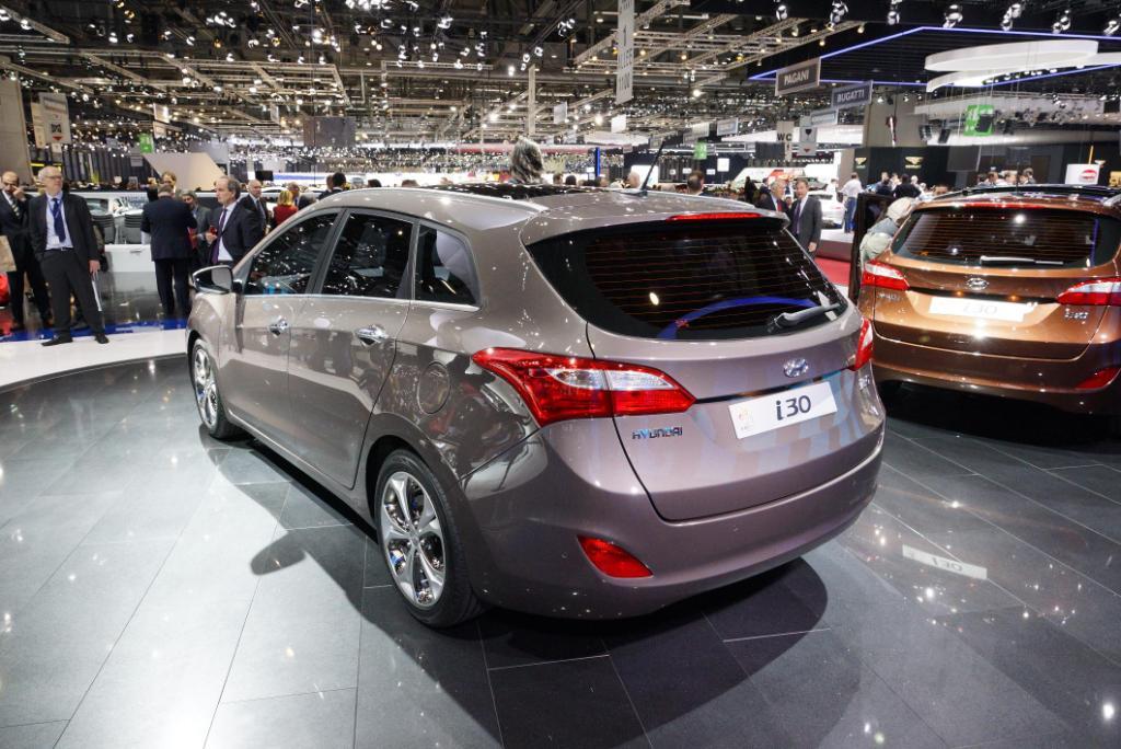 Hyundai i30 Geneva 2012 Rear