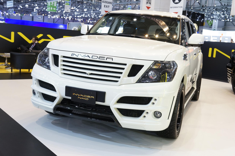 Invader N40 Nissan Patrol Geneva 2012