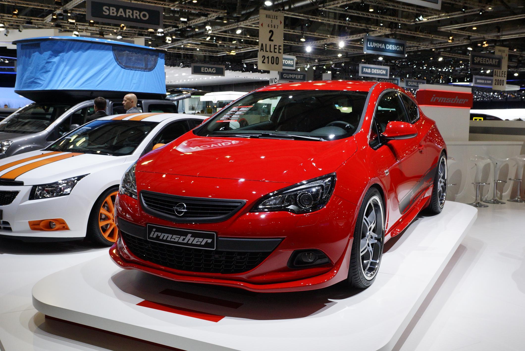 Irmscher Opel Astra Gevena 2012