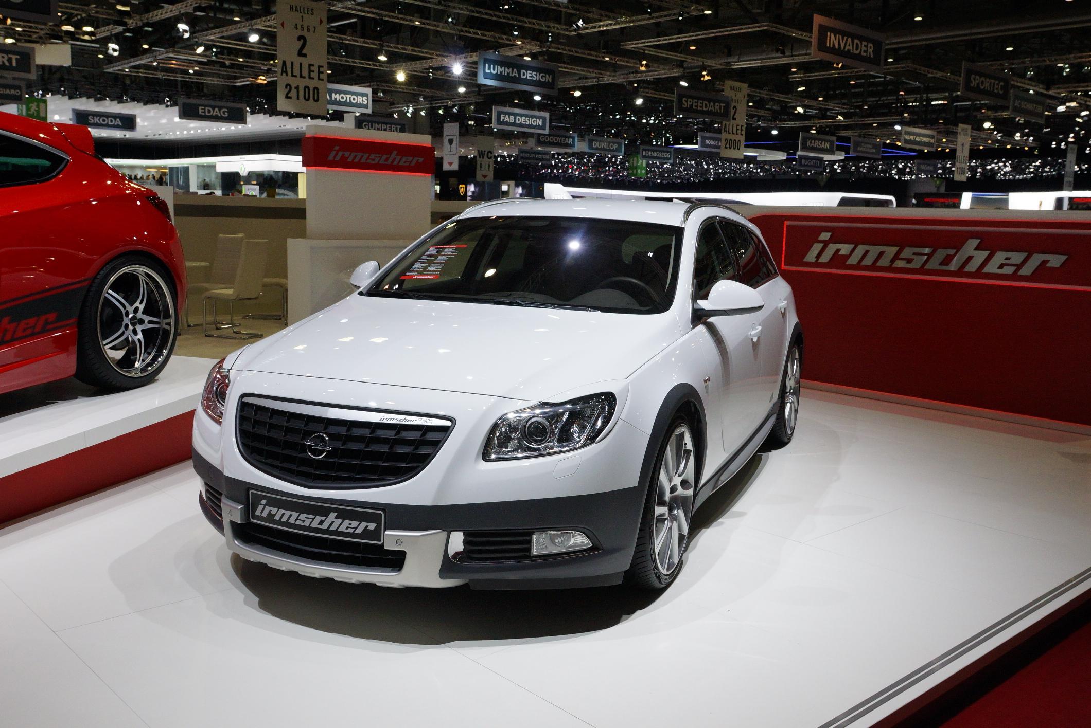 Irmscher Opel Insignia Tourer Geneva 2012