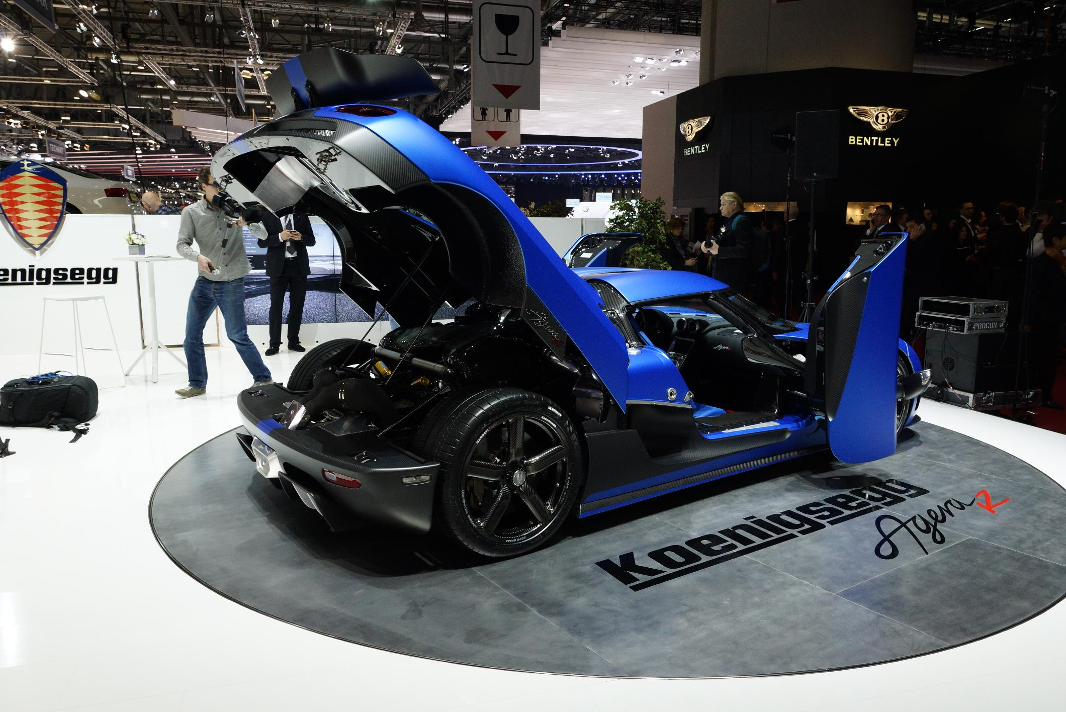 Koenigsegg Agera R Geneva 2012 Engine 2