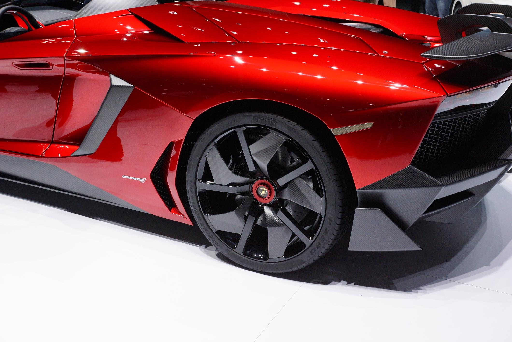 Lamborghini Aventador J Geneva 2012 Wheel