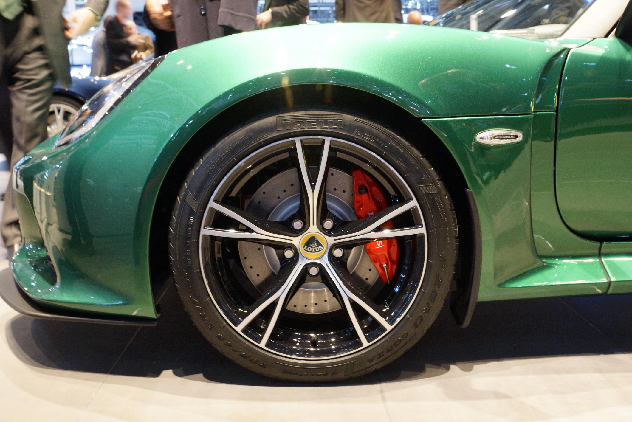 Lotus Exige S Geneva 2012 Wheel