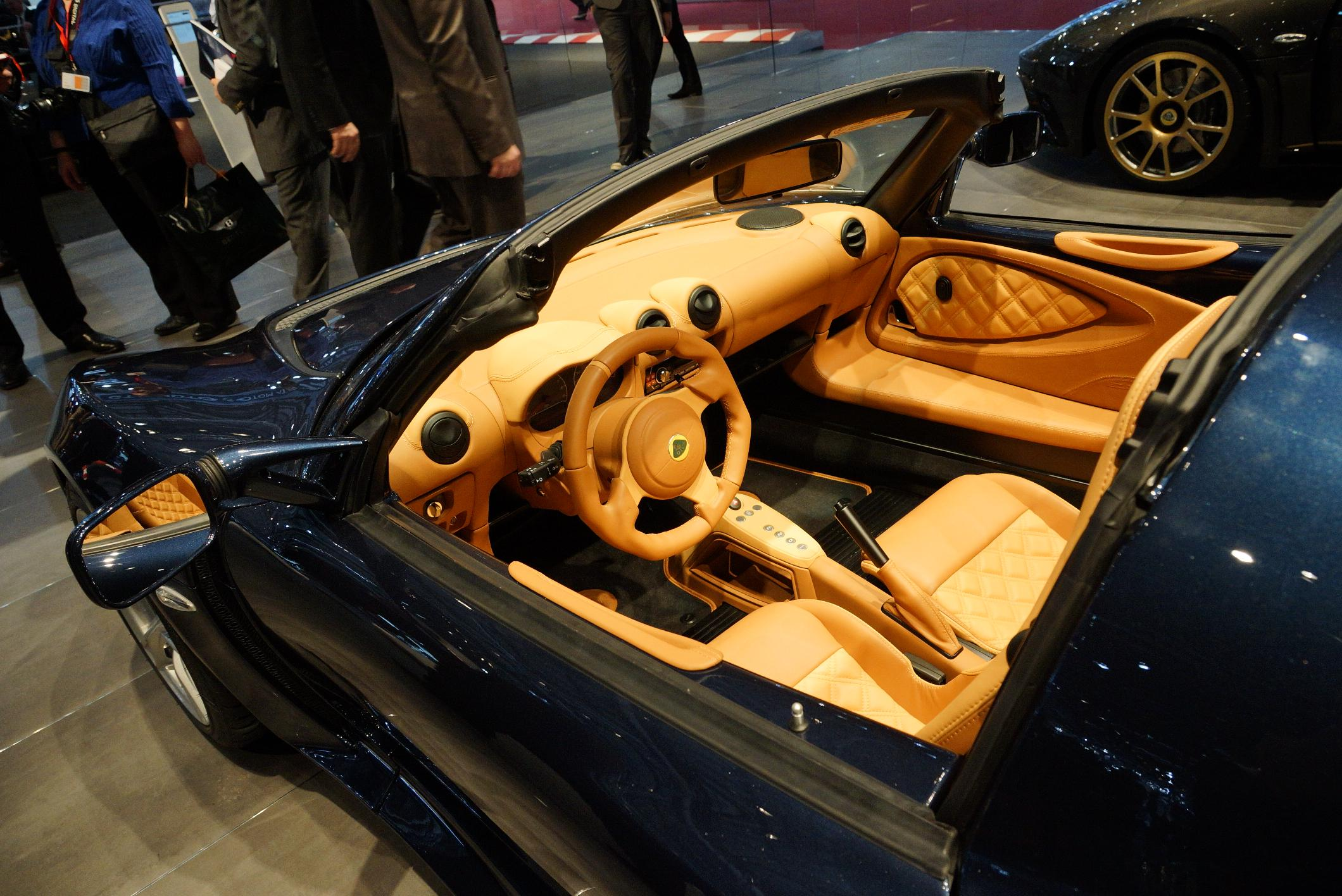 Lotus Exige S Roadster Geneva 2012 Interior