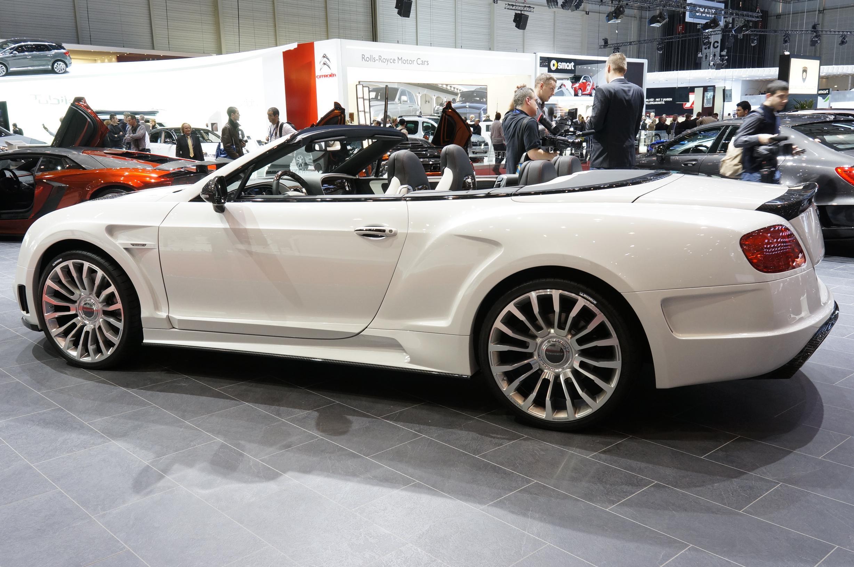 Mansory Bentley Continental GTC Geneva 2012 Side