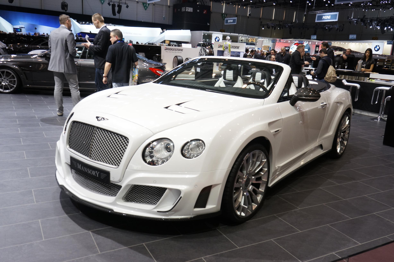Mansory Bentley Continental GTC Geneva 2012
