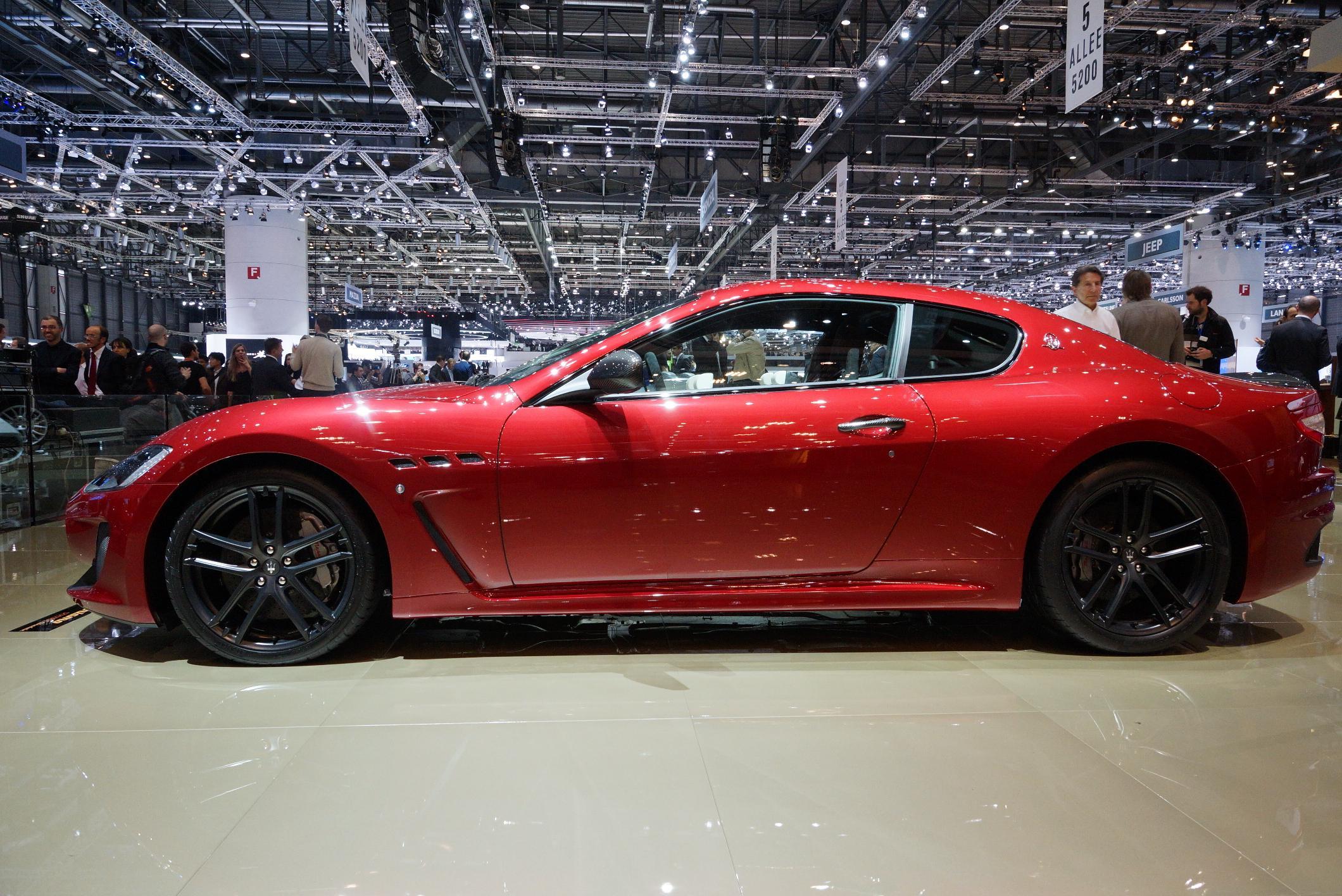 Maserati GranTurismo Geneva 2012 Side