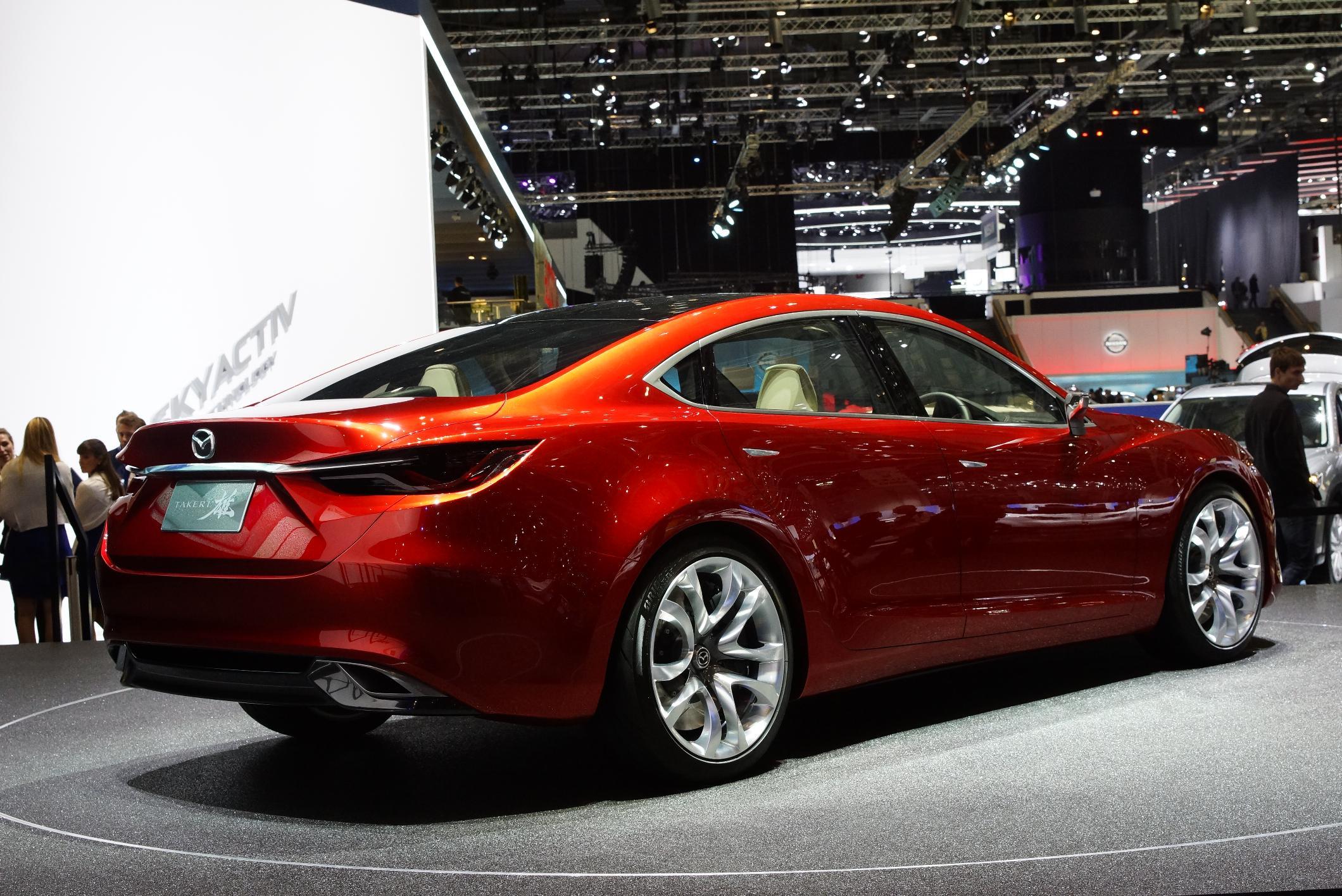 Mazda Takeri Geneva 2012 Rear
