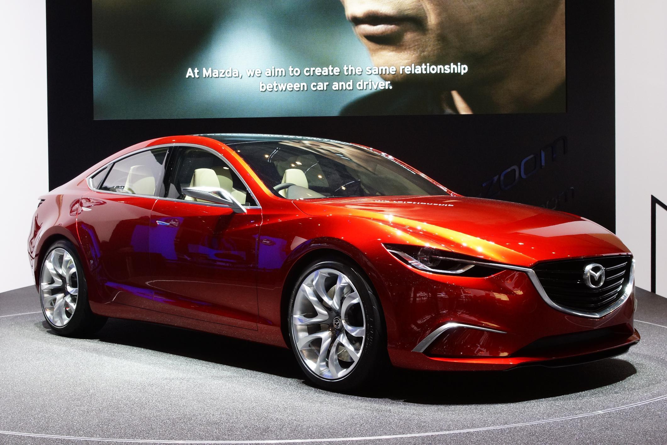 Mazda Takeri Geneva 2012