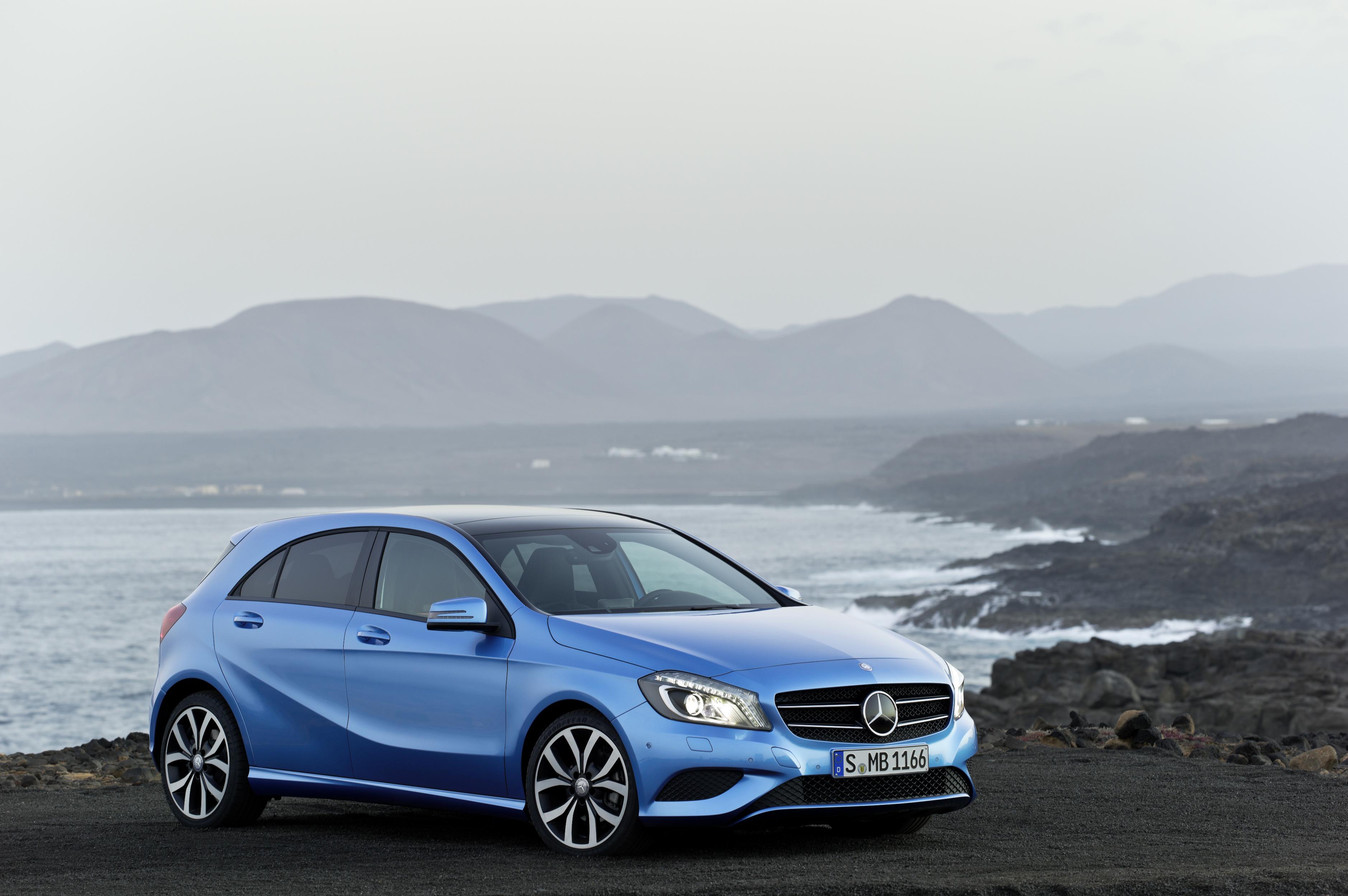 Mercedes A Class Front