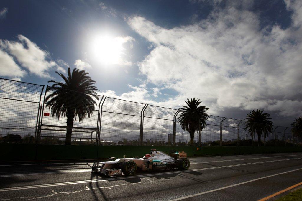Mercedes F1 W03 Side