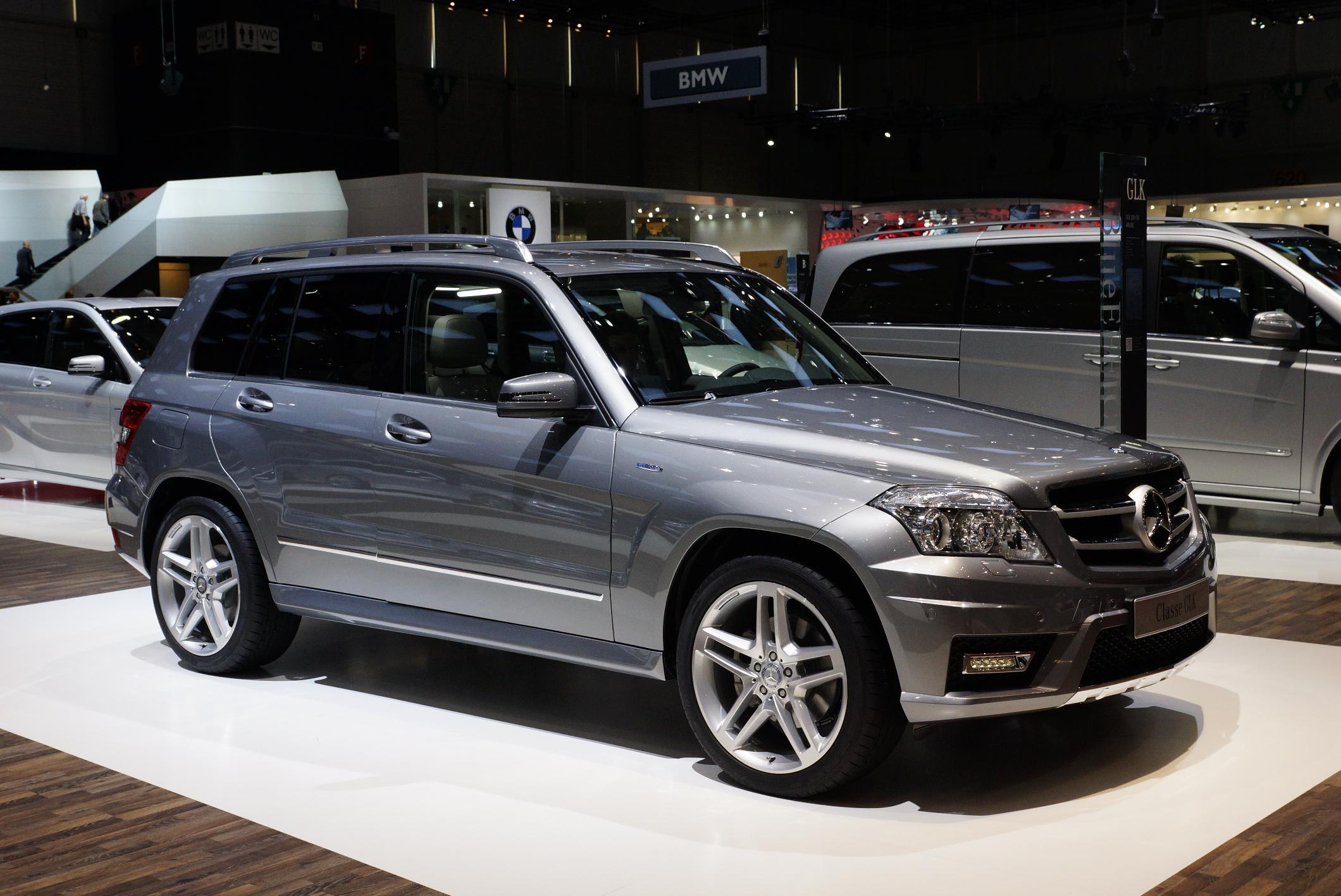 Mercedes GLK Geneva 2012