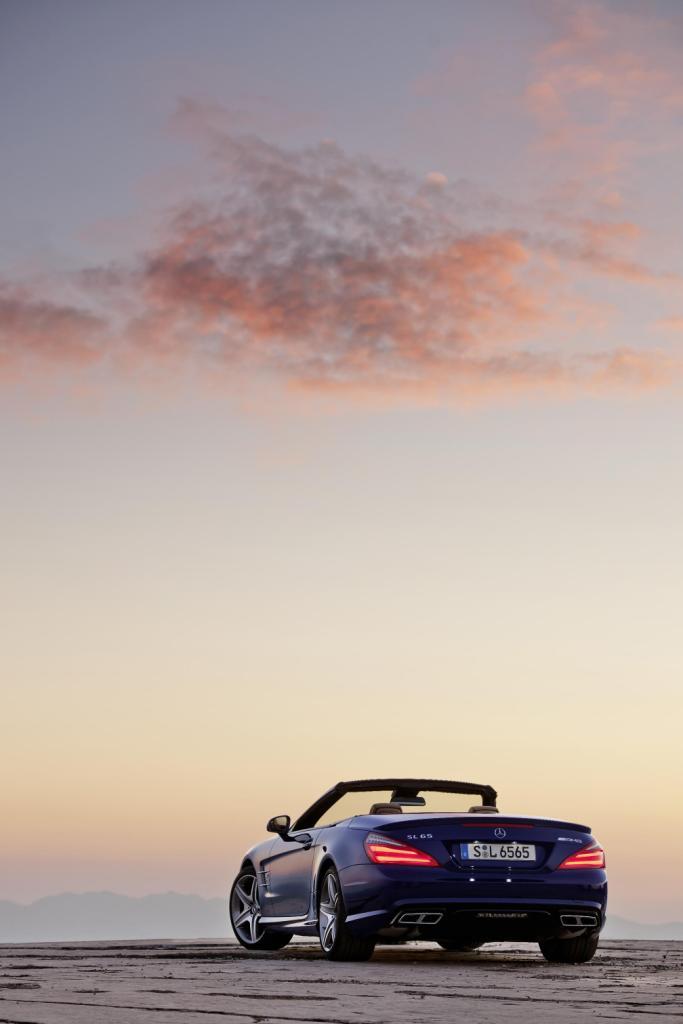Mercedes SL65 AMG Back