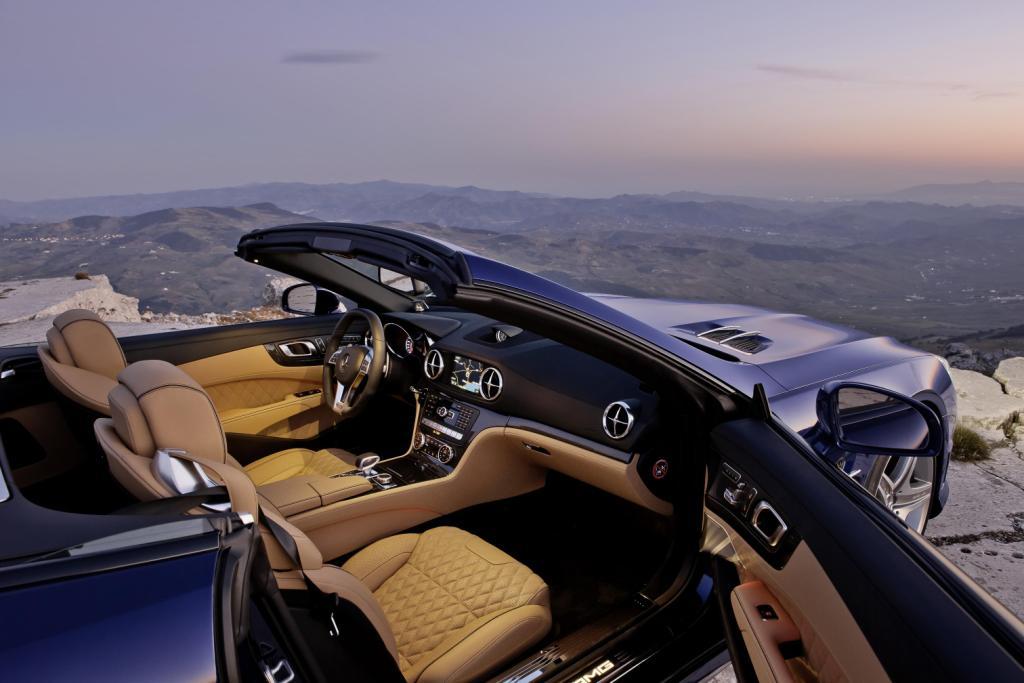 Mercedes SL65 AMG Dash