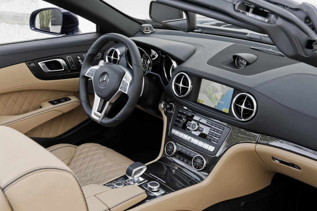 Mercedes SL65 AMG Interior