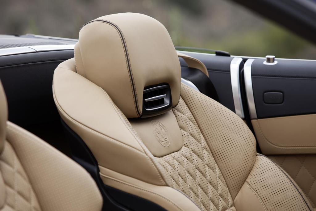 newmotoring mercedes sl65 amg seats newmotoring. Black Bedroom Furniture Sets. Home Design Ideas