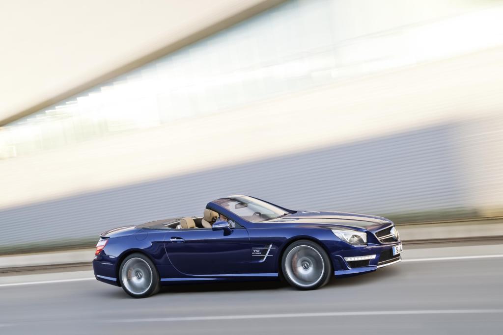 Mercedes SL65 AMG Side