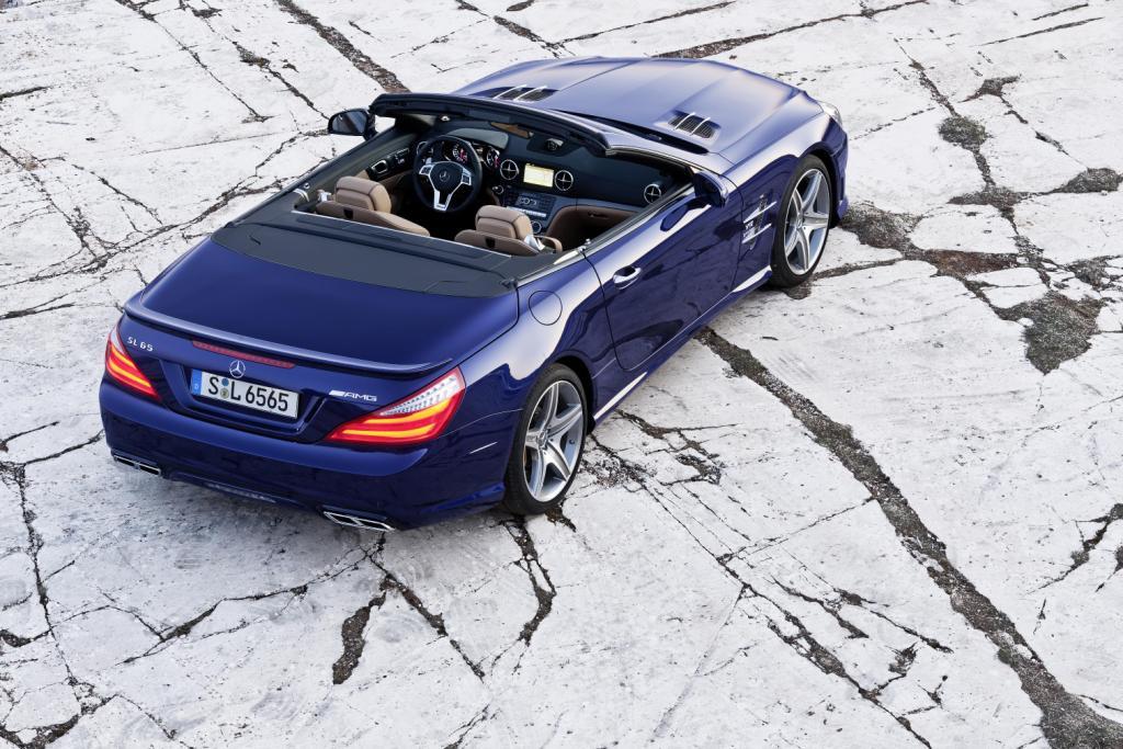 Mercedes SL65 AMG Top