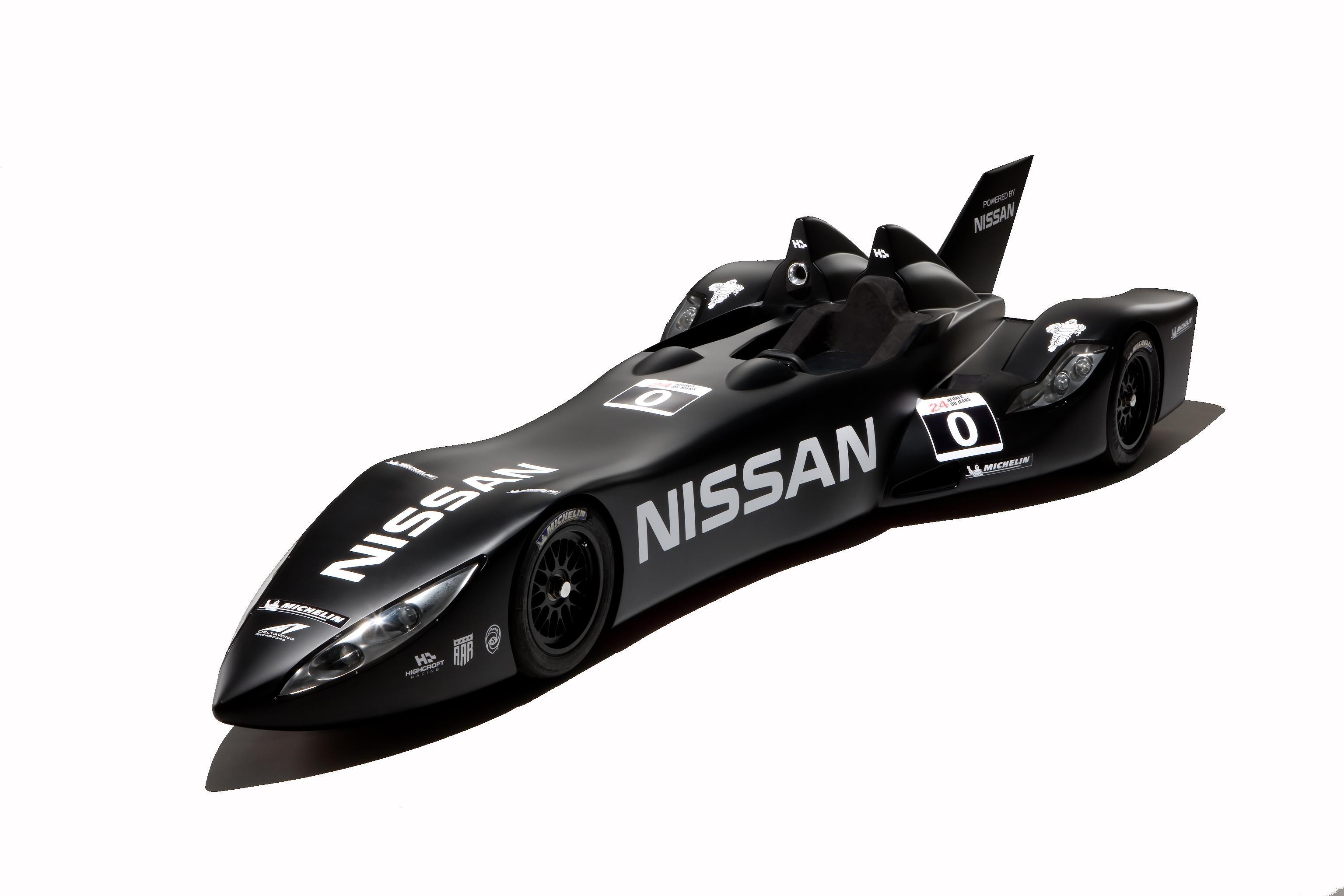 Nissan DeltaWing Batmobile Profile