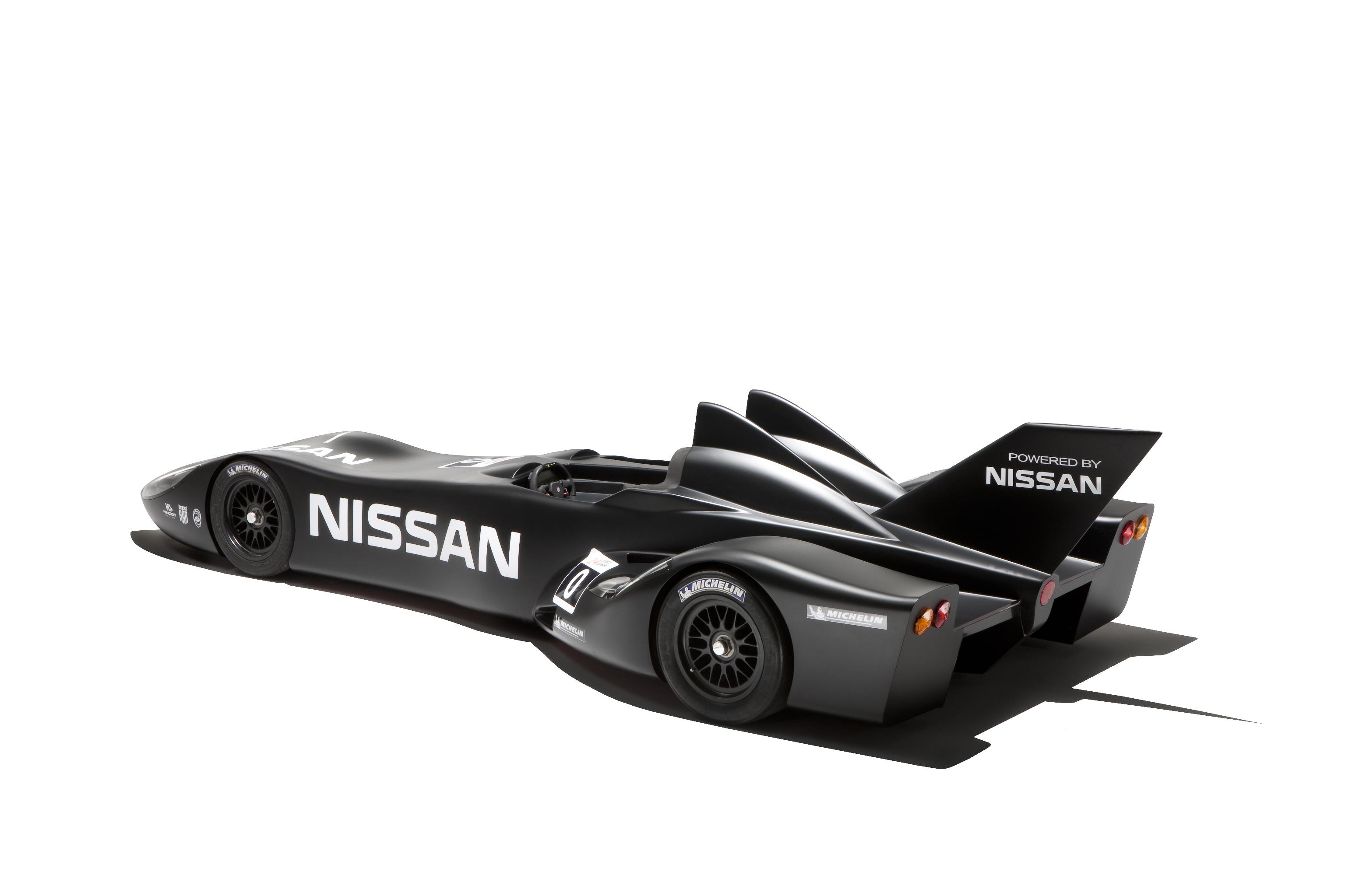 Nissan DeltaWing Batmobile Rear Profile