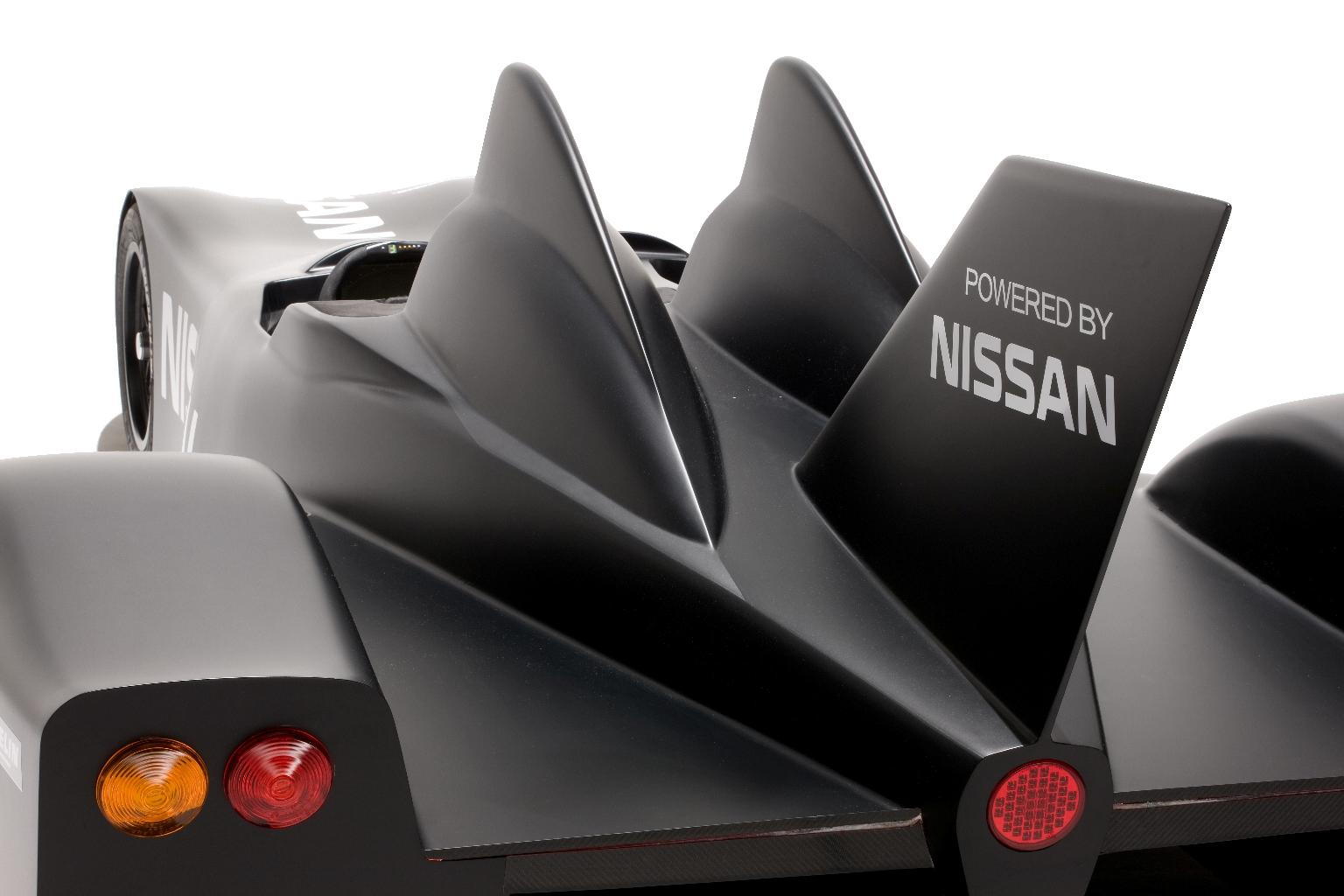 Nissan DeltaWing Batmobile Rear Wing