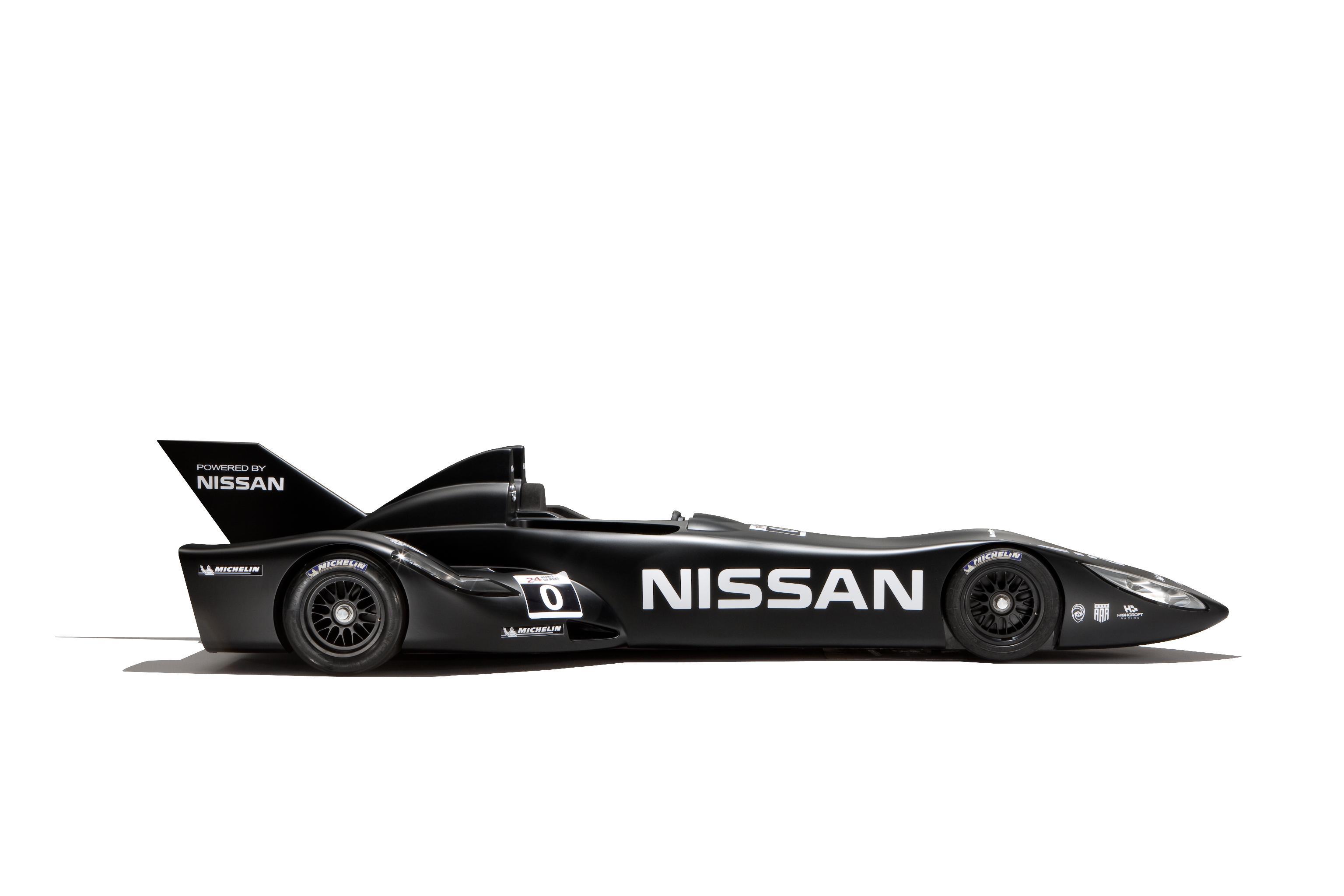 Nissan DeltaWing Batmobile Side 2