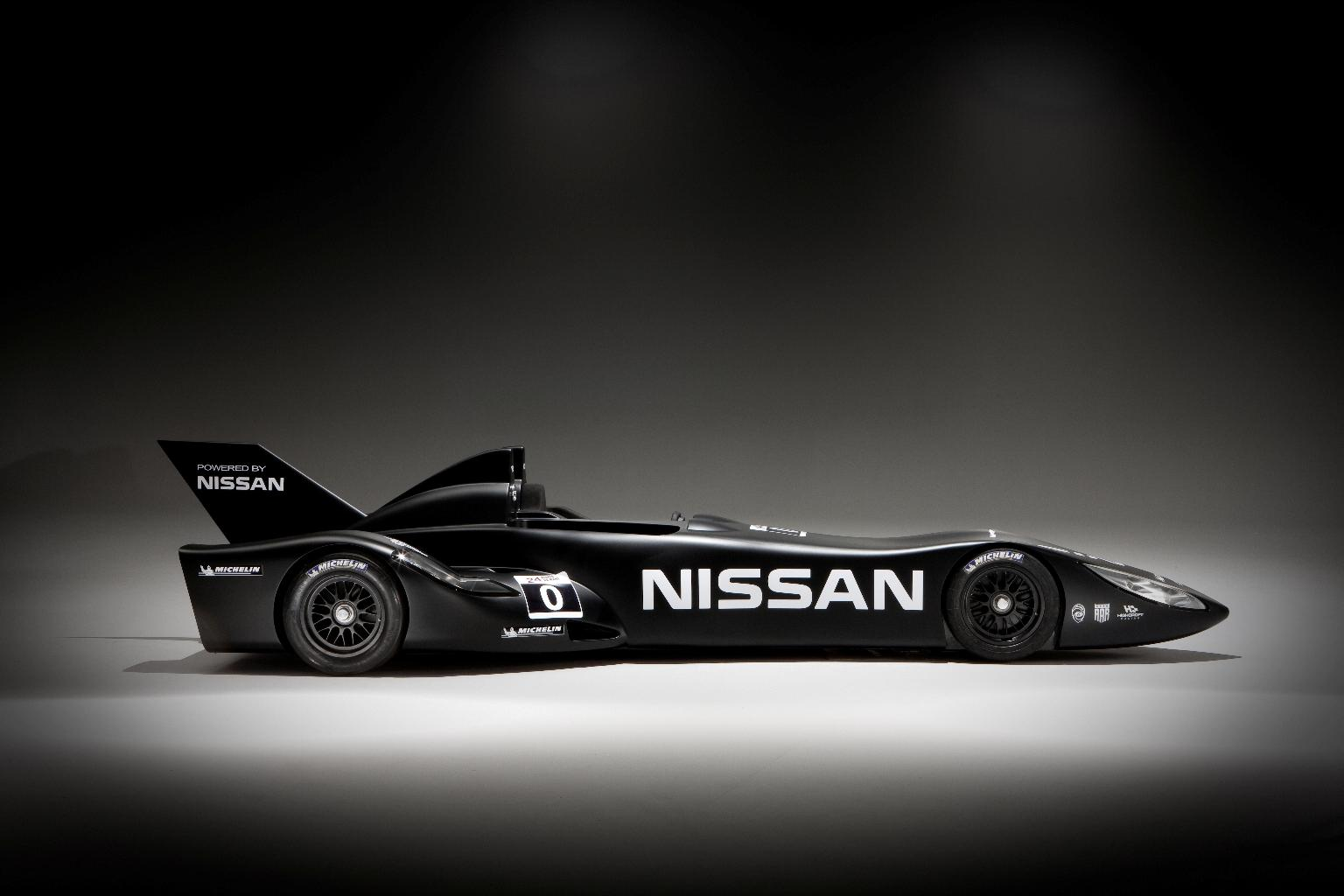 Nissan DeltaWing Batmobile Side 3