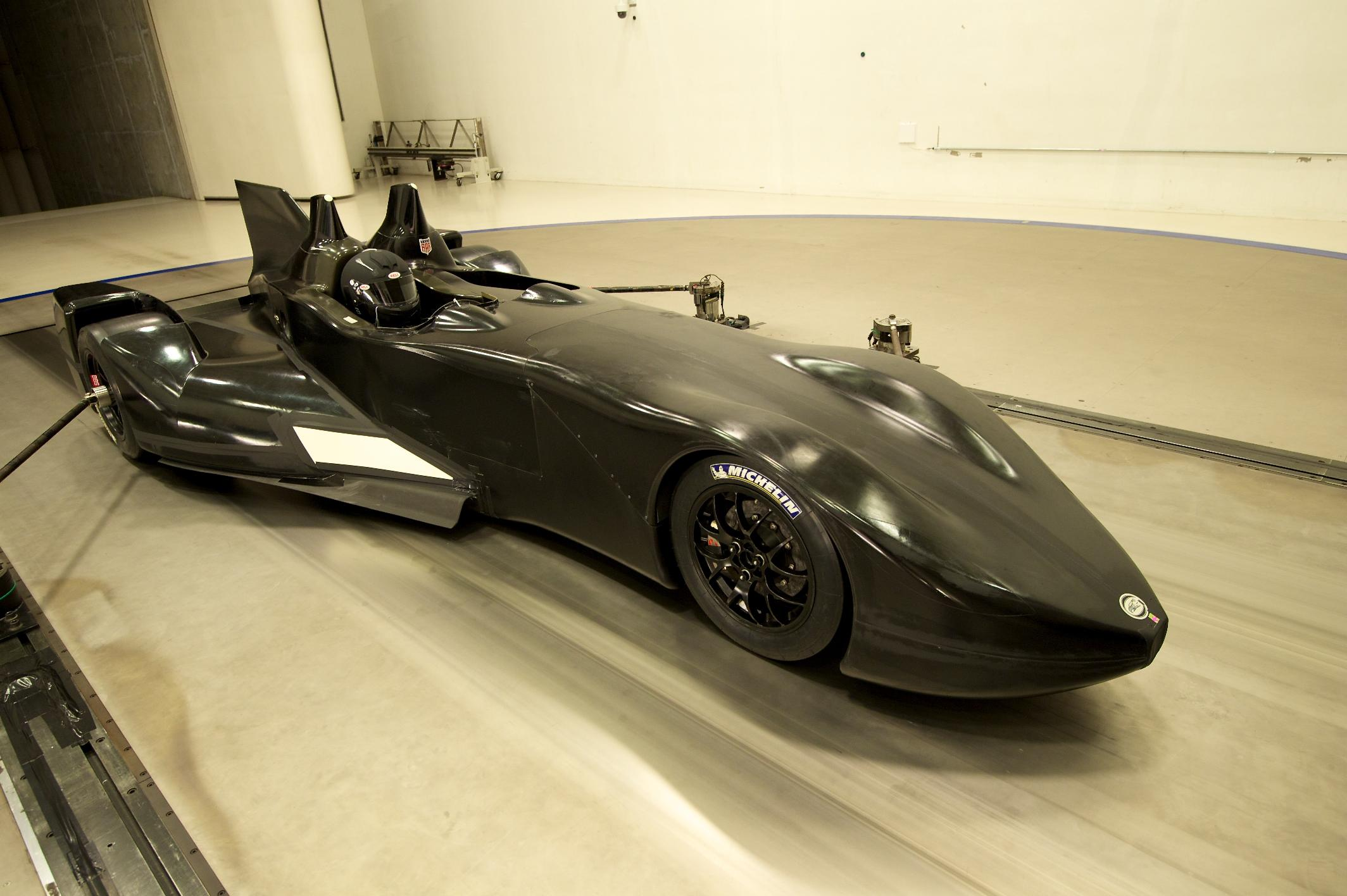 Nissan DeltaWing Batmobile Wind Tunnel 5
