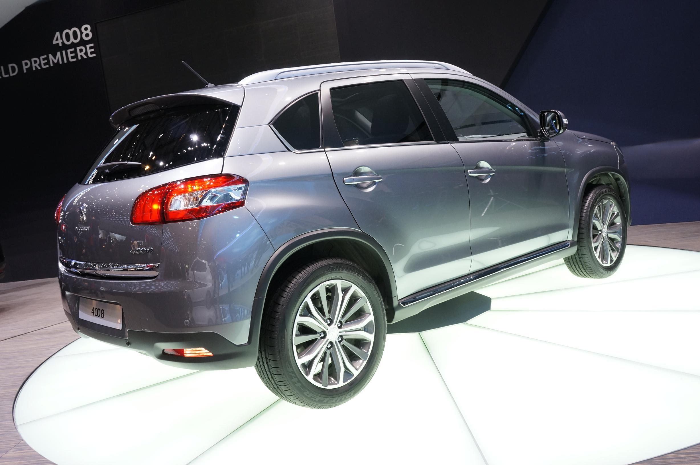Peugeot 4008 Geneva 2012 Rear