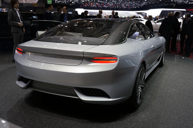 Pininfarina Cambiano Geneva 2012 Rear