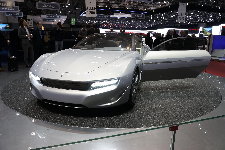 Pininfarina Cambiano Geneva 2012